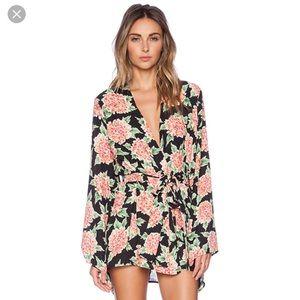 SMYM beaux beaux kimono dress in flowerpuff girl